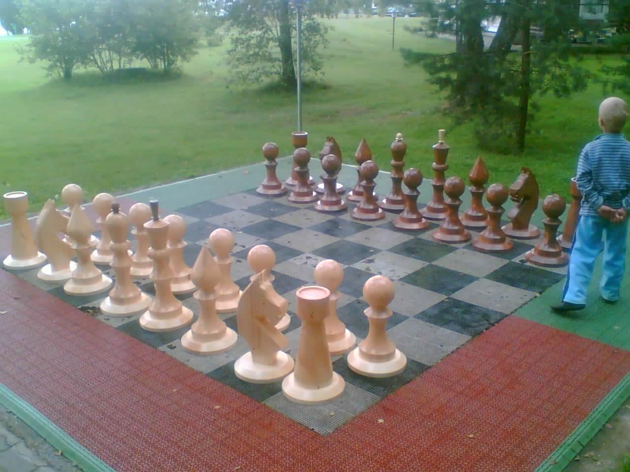 Уличные шахматы своими руками для дачи 21