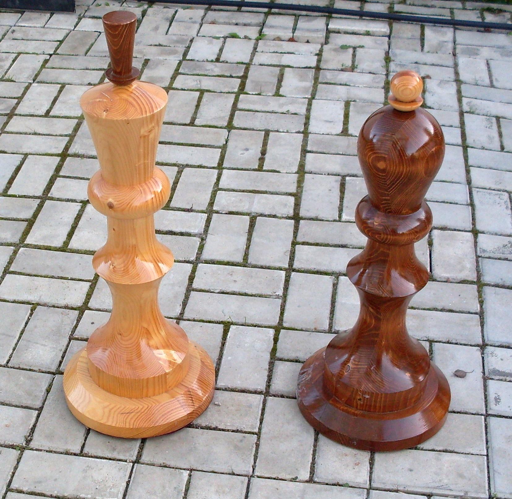 Как своими руками сделать шахматы своими руками из дерева 88